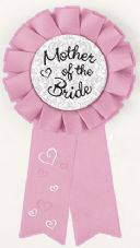 Bride To Be Hen Party Award Ribbon 'Mother Of The Bride'